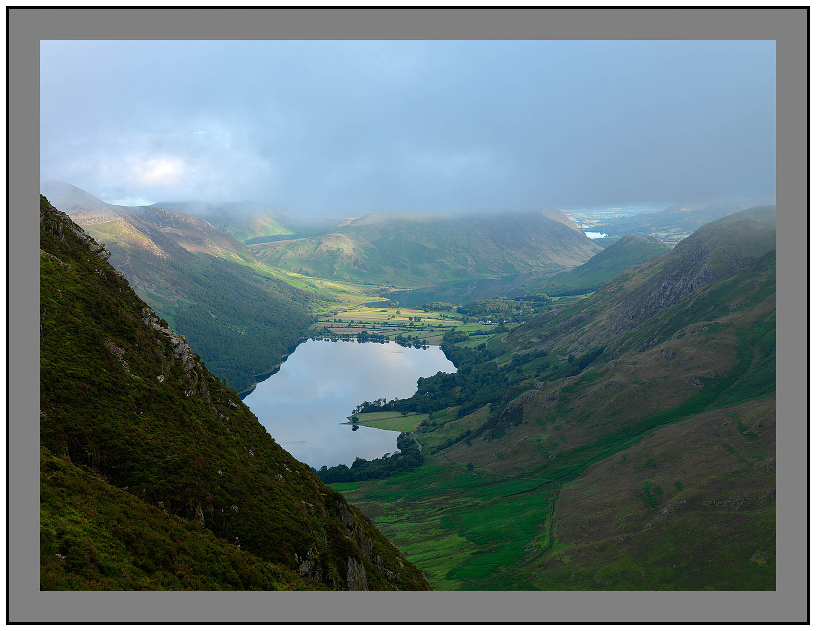 A 5277 Buttermere from Fleetwith Pike