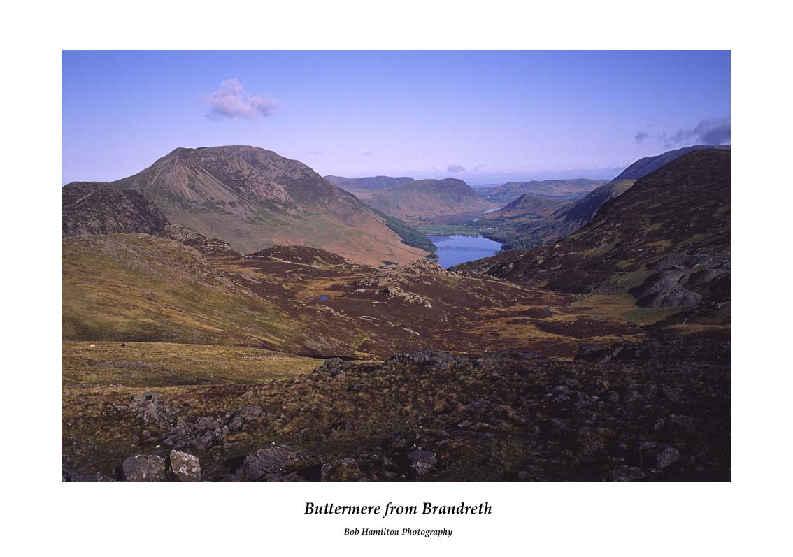 Buttermere from Brandreth