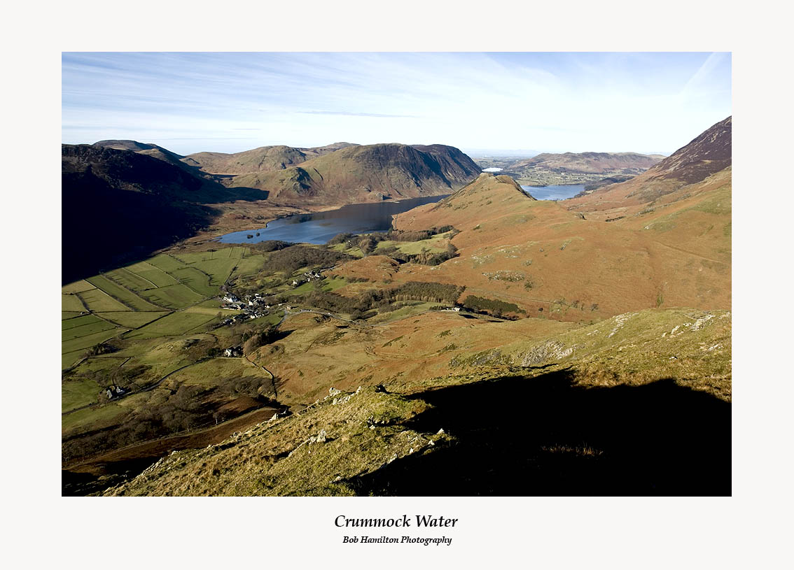 Buttermere and Crummock Water from High Snockrigg