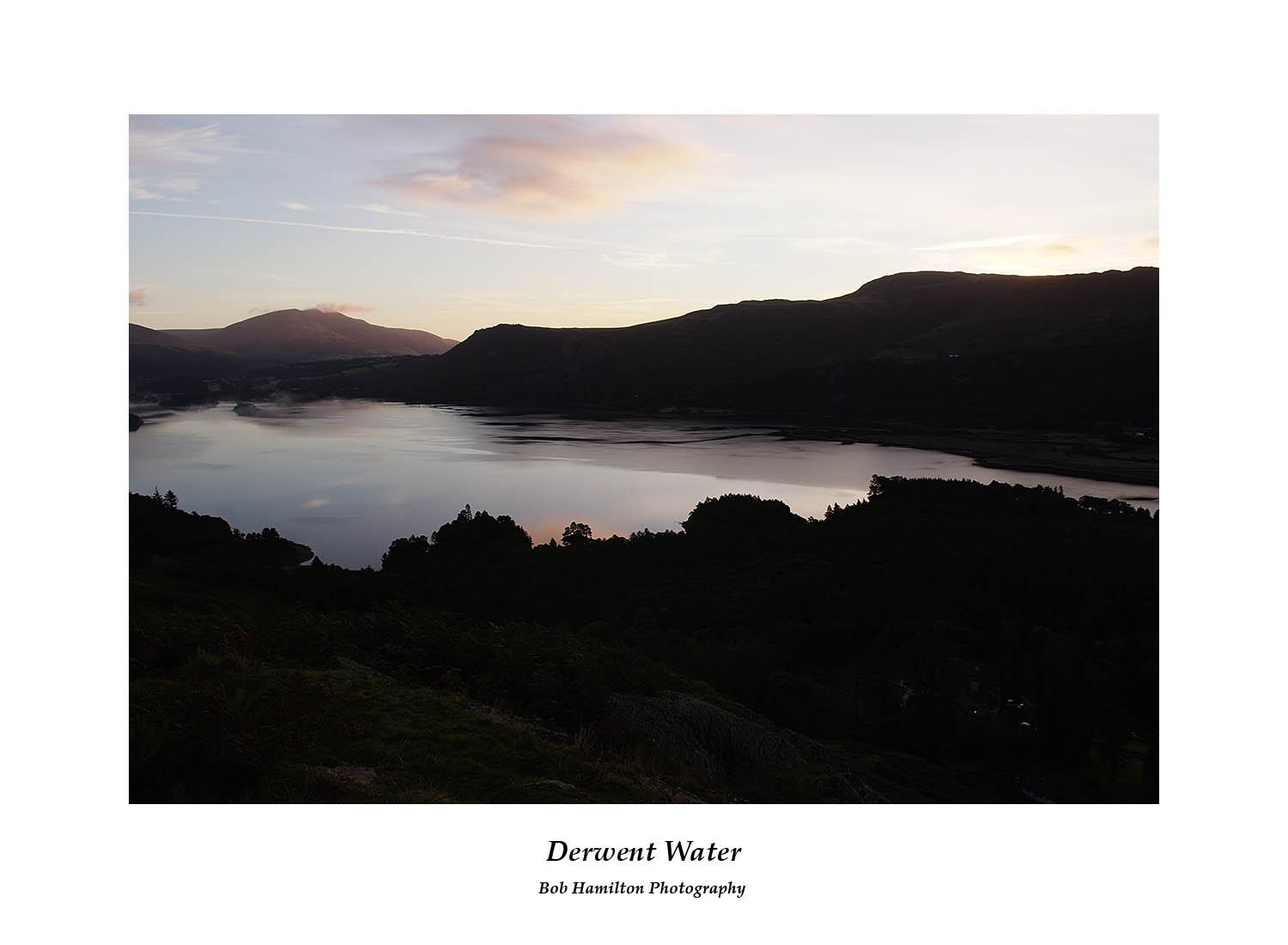 DSF1135 First light on Derwent Water from Cat Bells