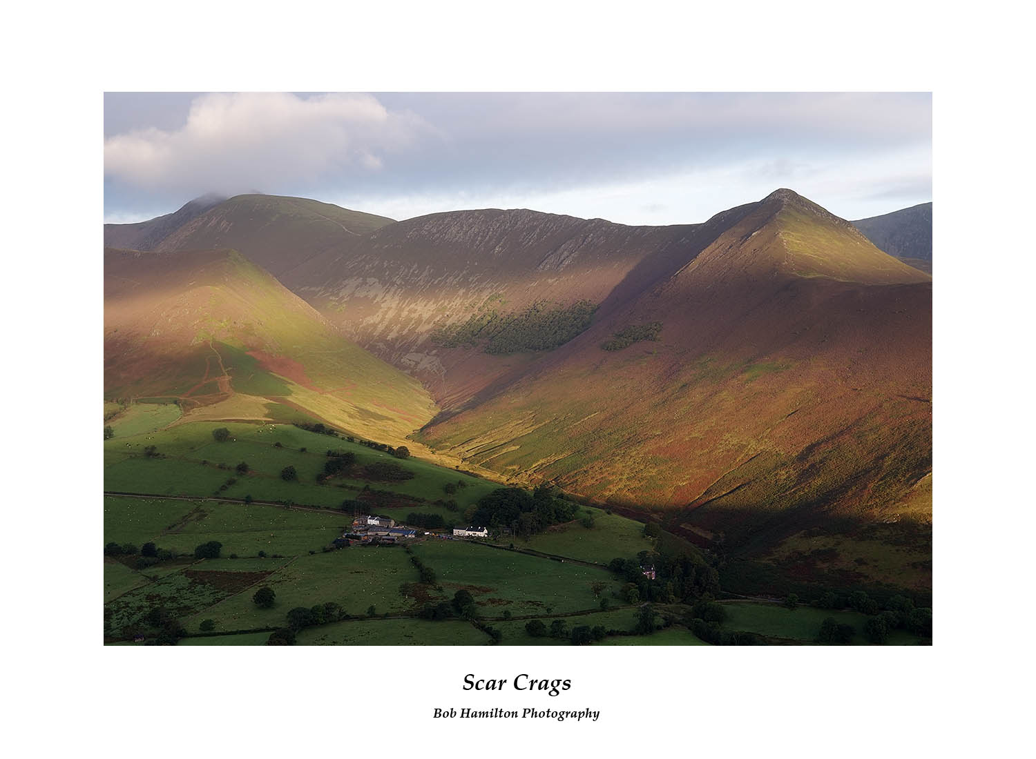 DSF1160 Causey Pike Sail and Crag Hill from Cat Bells