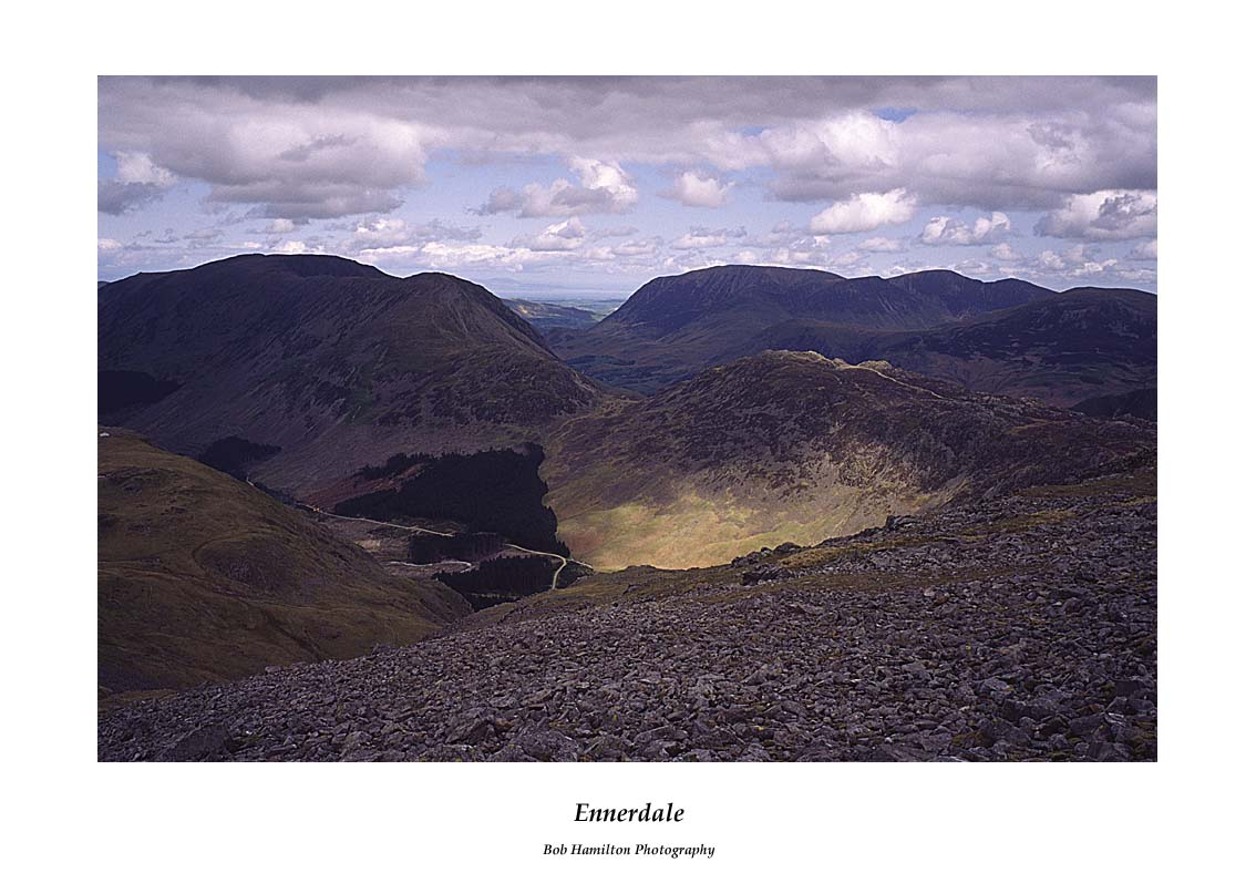 Ennerdale from Kirk Fell