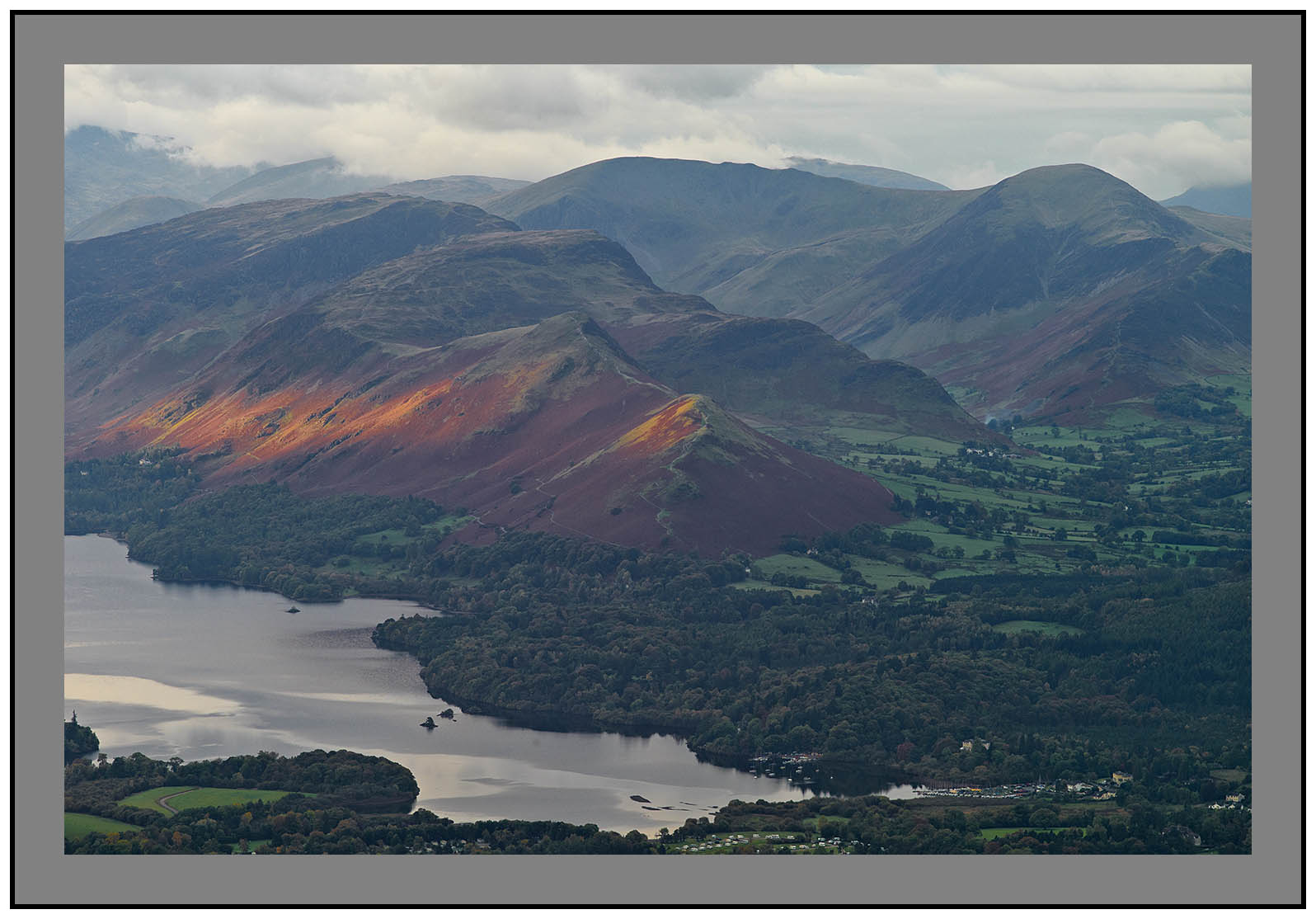 L1000189a Daybreak on Catbells and Newlands Valley