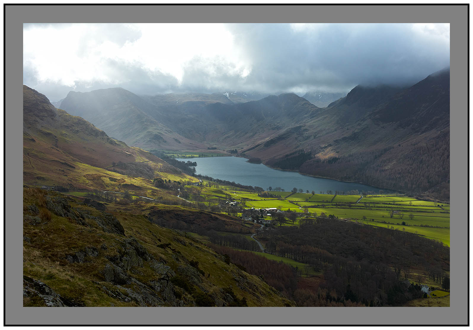 L1002301 Buttermere from Rannerdale Knotts