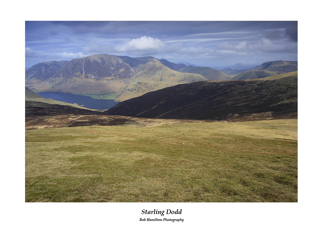 Crummock Water and the northern fells seen from Starling Dodd