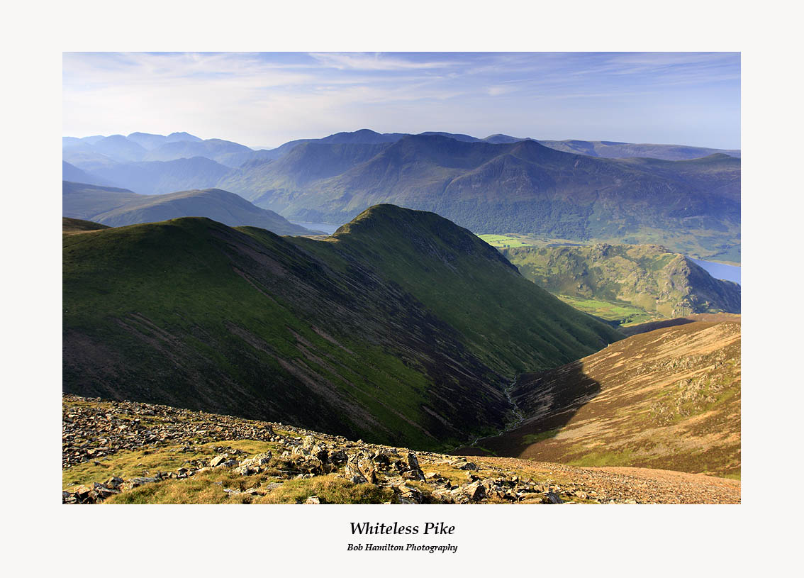Whiteless Pike and Rannerdale from Grasmoor