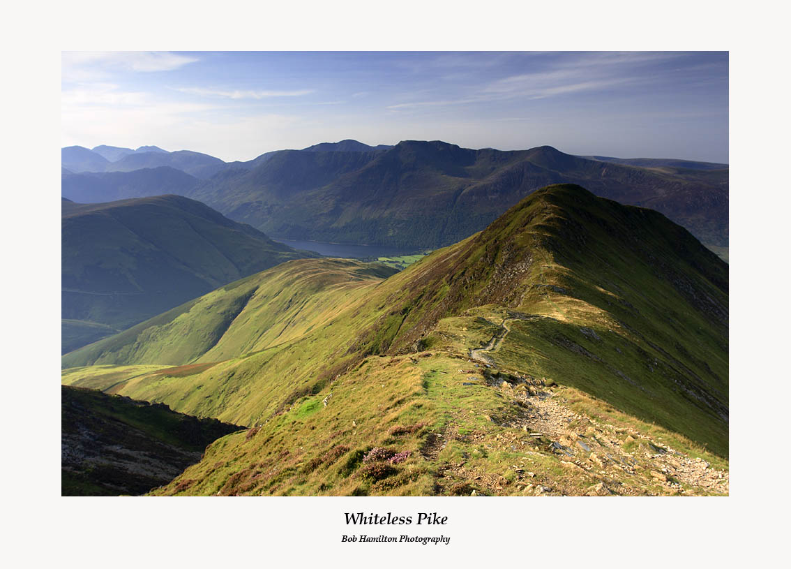 Whiteless Pike and Buttermere from Wandope
