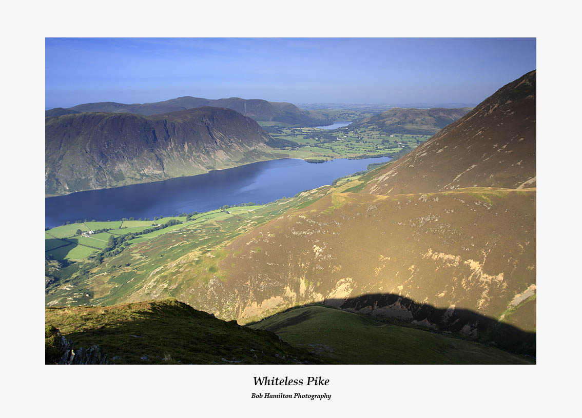 Crummock Water and Loweswater from Whiteless Pike