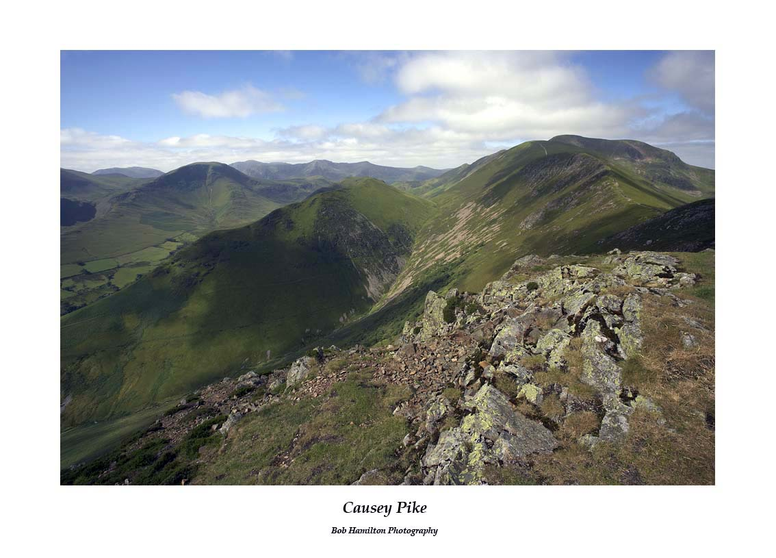 Crag Hill from Causey Pike
