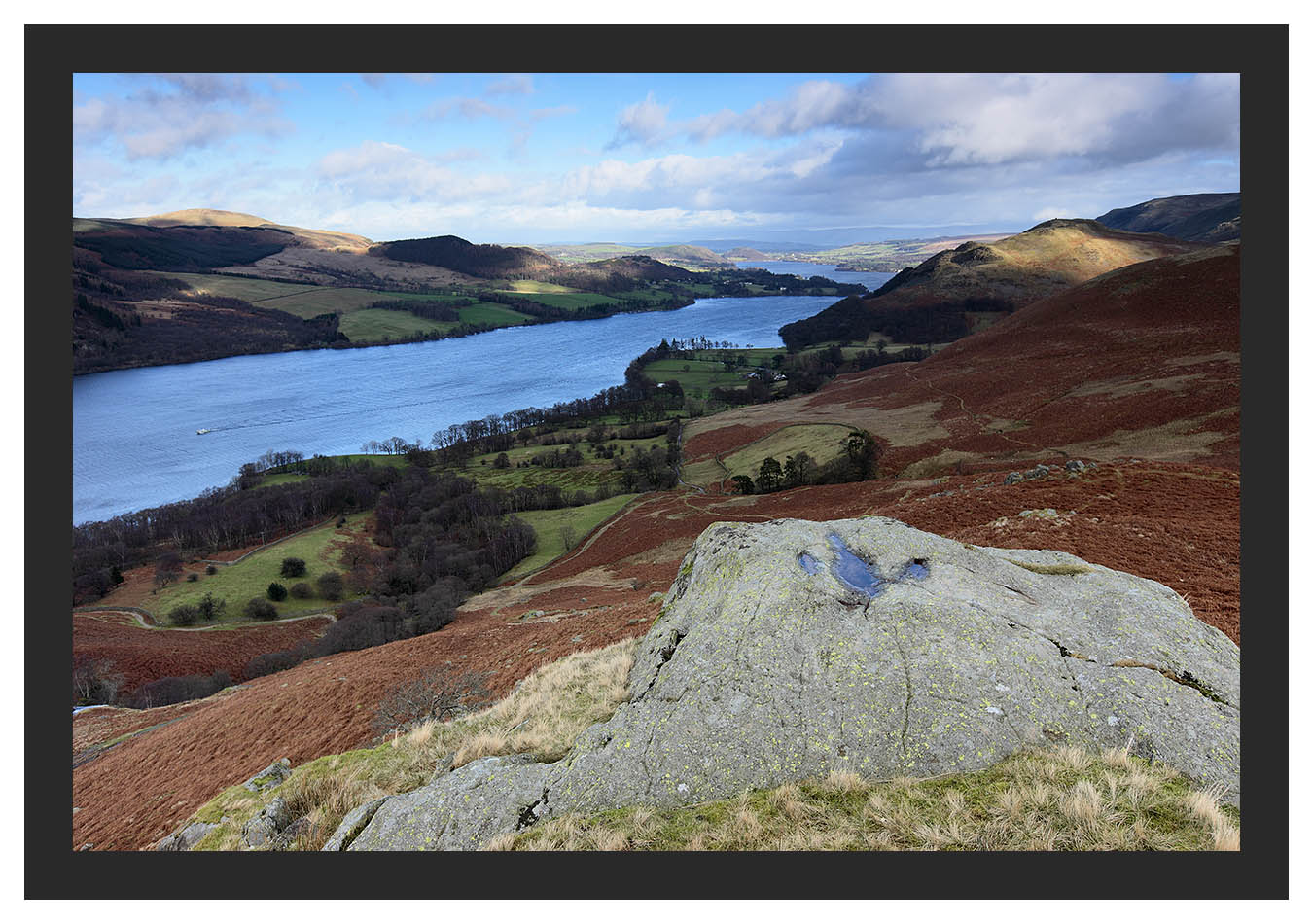 46E0635 Ullswater and Hallin Fell from High Knott