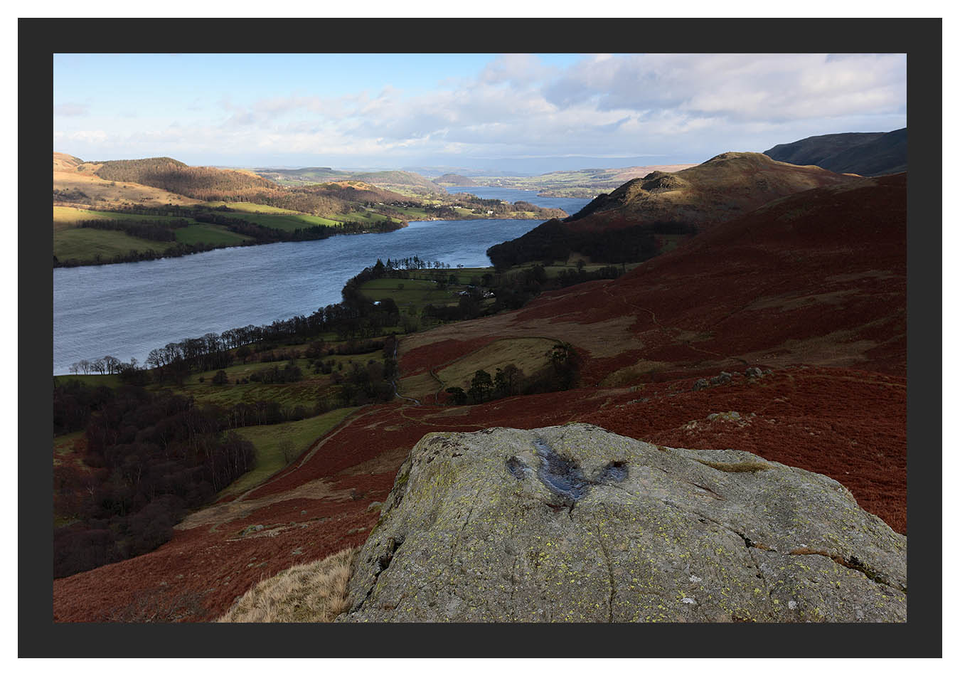 46E0649 Ullswater and Hallin Fell from High Knott