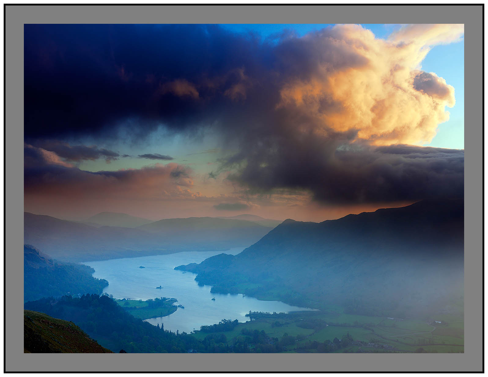 A 2996 Clouds over Ullswater