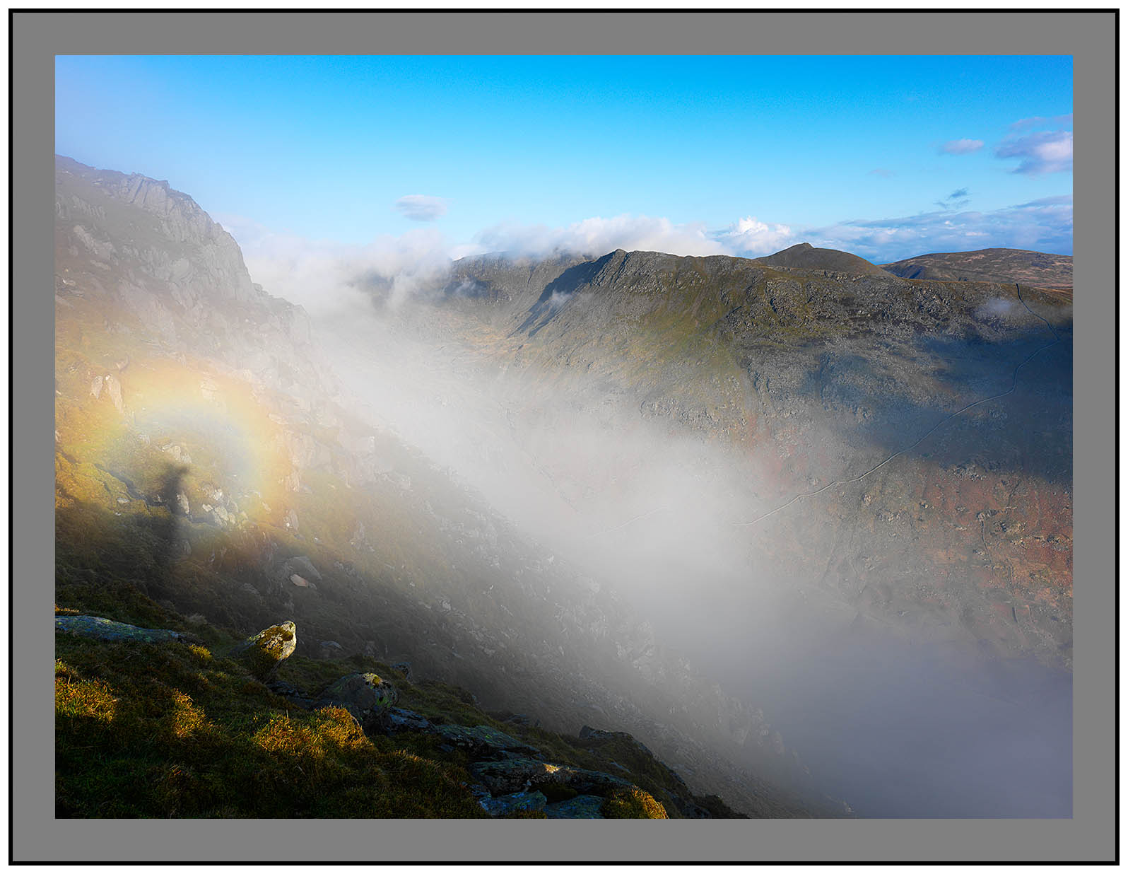 A 3022 Brocken spectre on St Sunday Crag