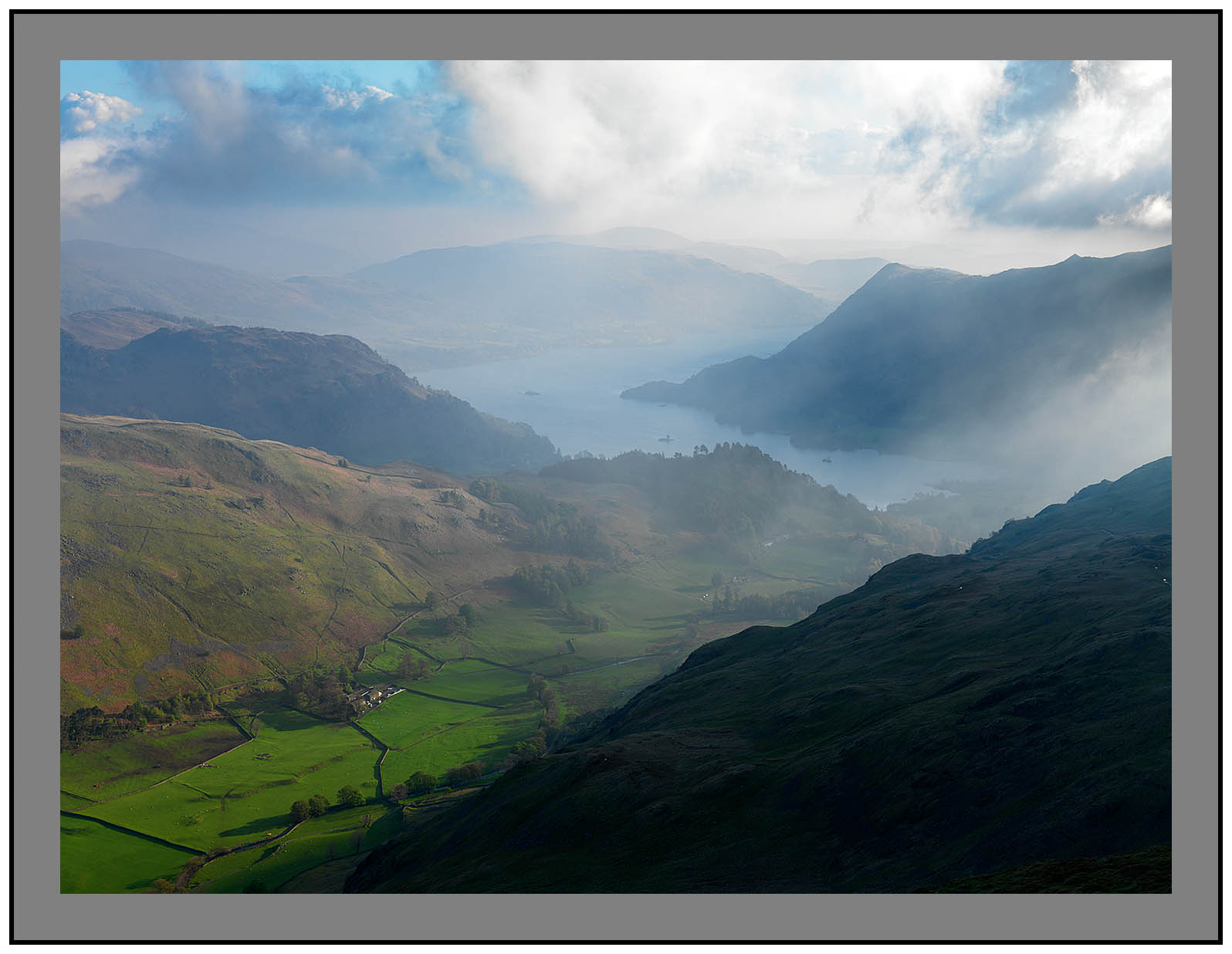 A 3058 Ullswater from St Sunday Crag