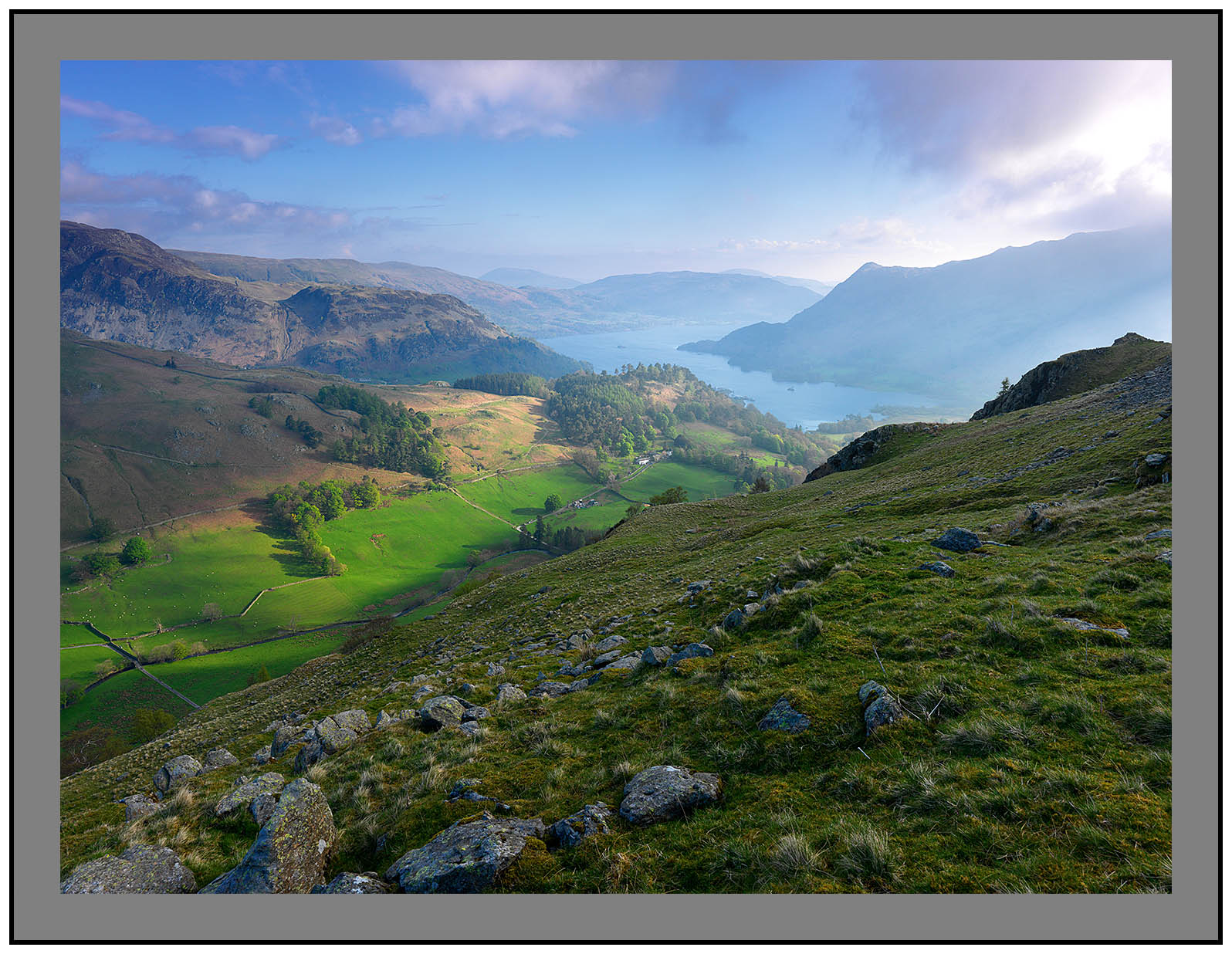 A 3069 Grisedale and Ullswater from Birks