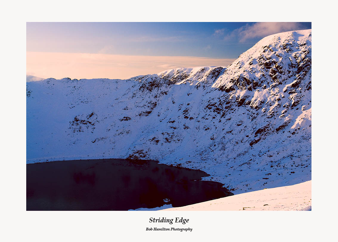 Striding Edge Helvellyn from Catseye Cam