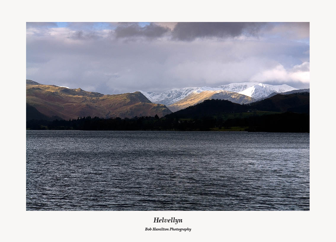 Helvellyn across Ullswater from near Pooley Bridge