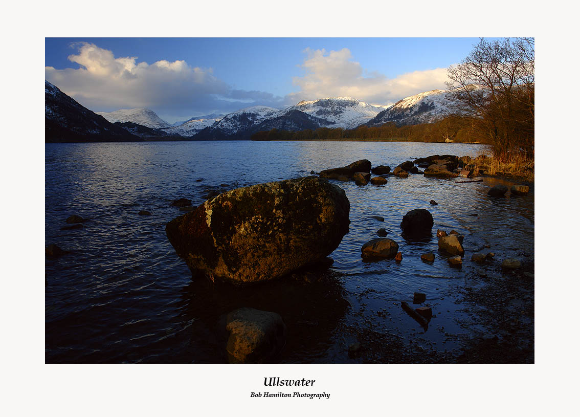 First Light on Ullswater