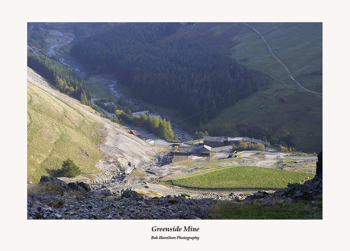 Greenside Mine seen from Stang End