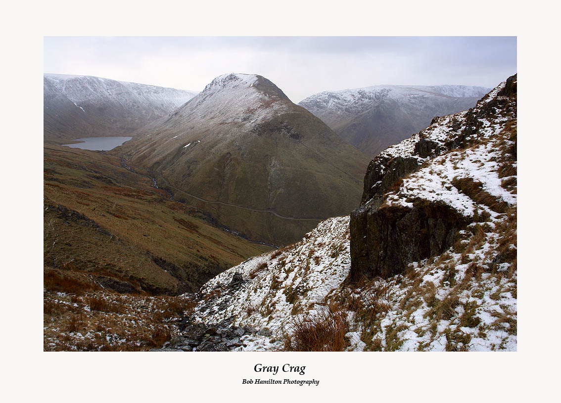 Gray Crag from Prison Crag