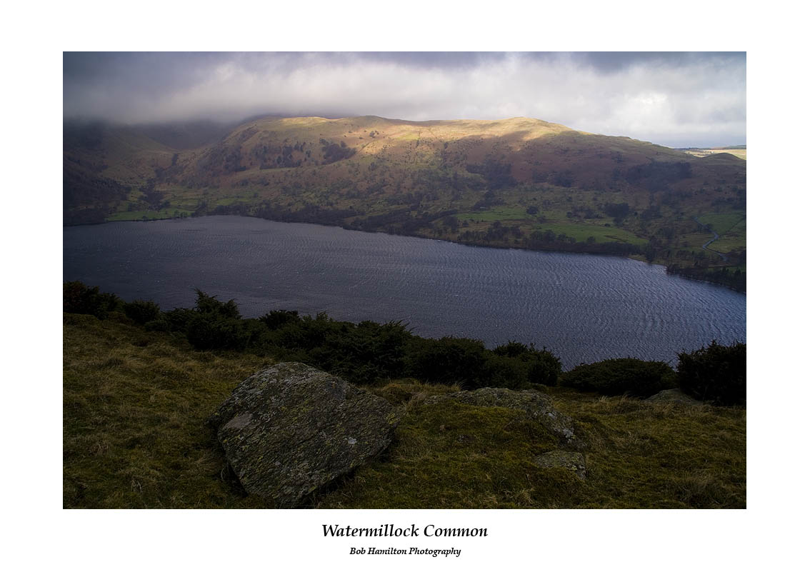 Watermillock Common and Glencoyne across Ullswater from Birk Fell