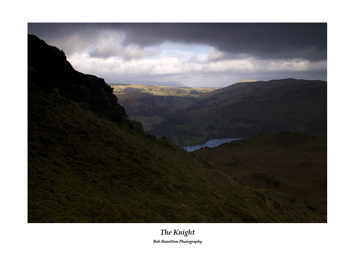 Dockray and Gowbarrow Fell over Ullswater from The Knight