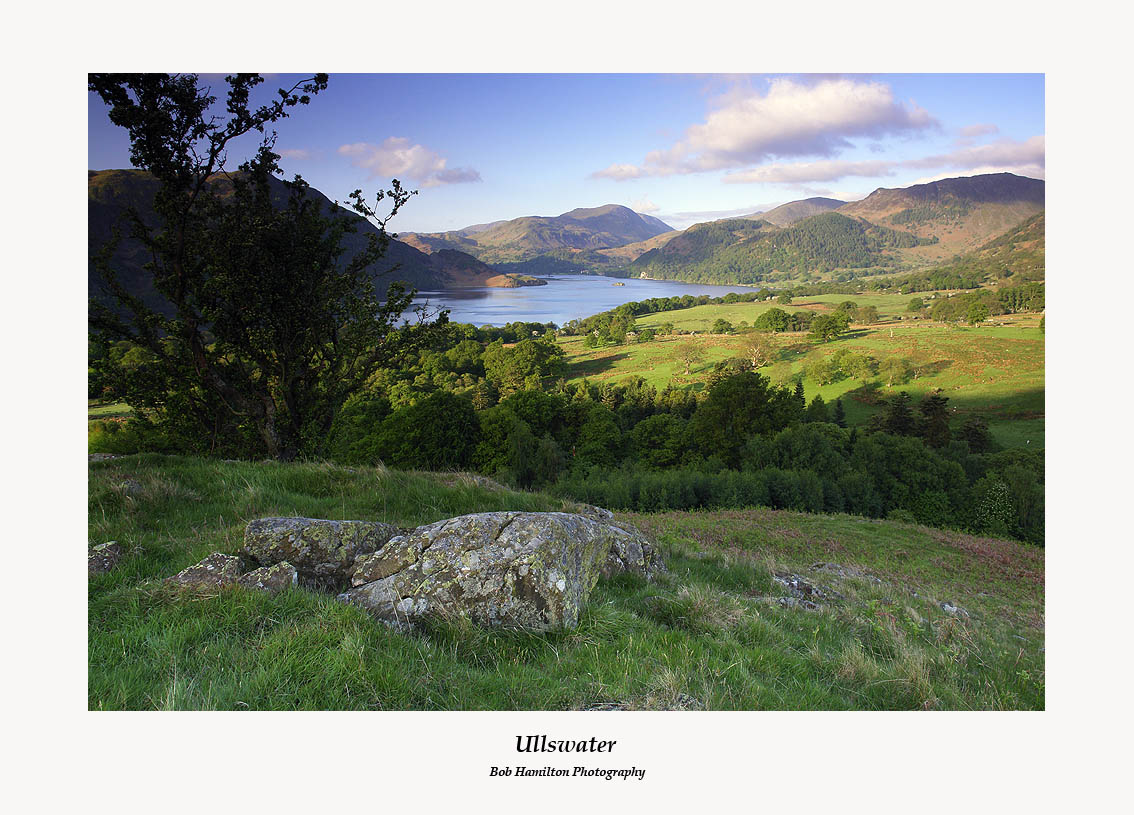 Ullswater from above Aira Force