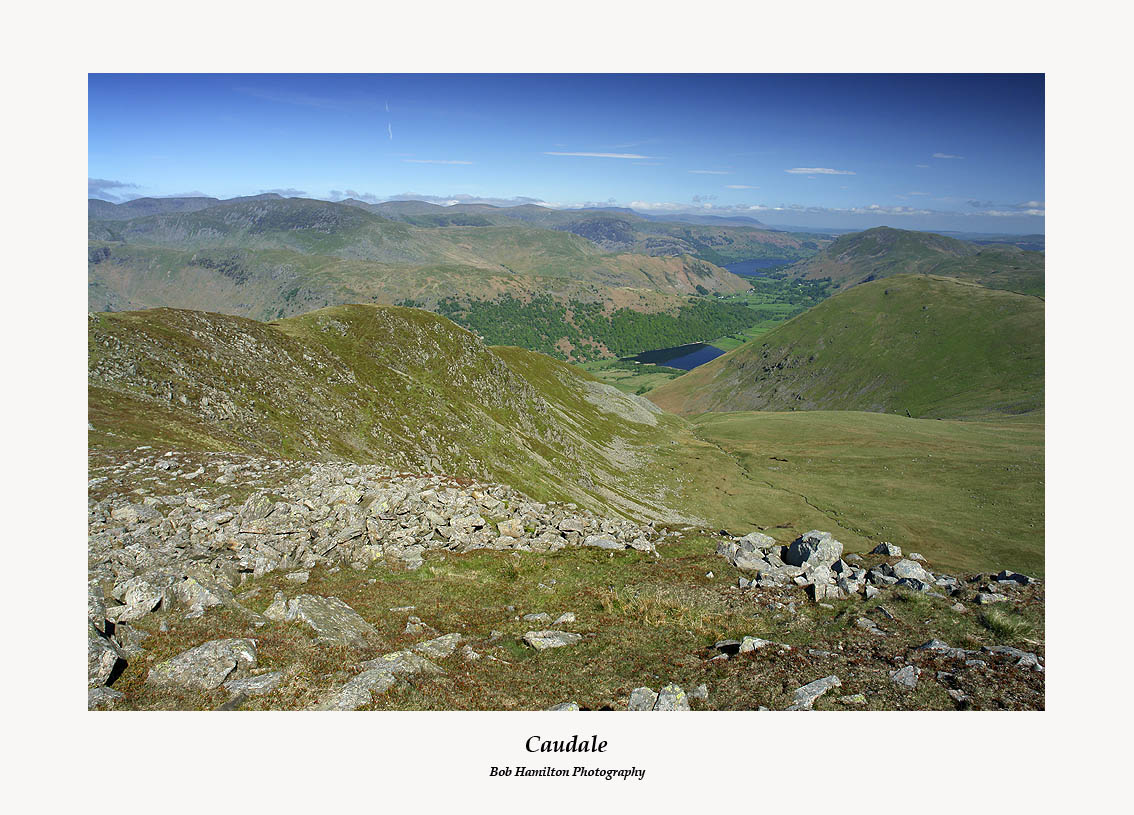 Caudale Brothers Water Ullswater and Hartsop Dodd from Caudale Head