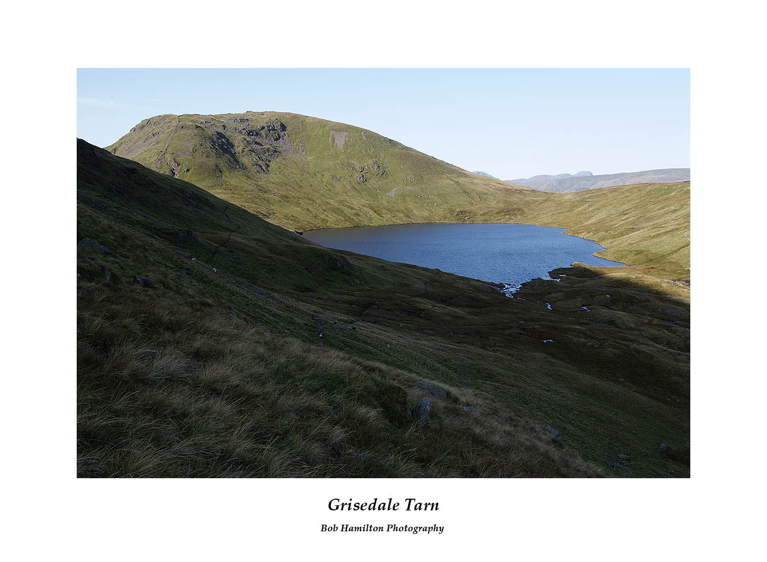 DSF1037 Seat Sandal over Grisedale Tarn