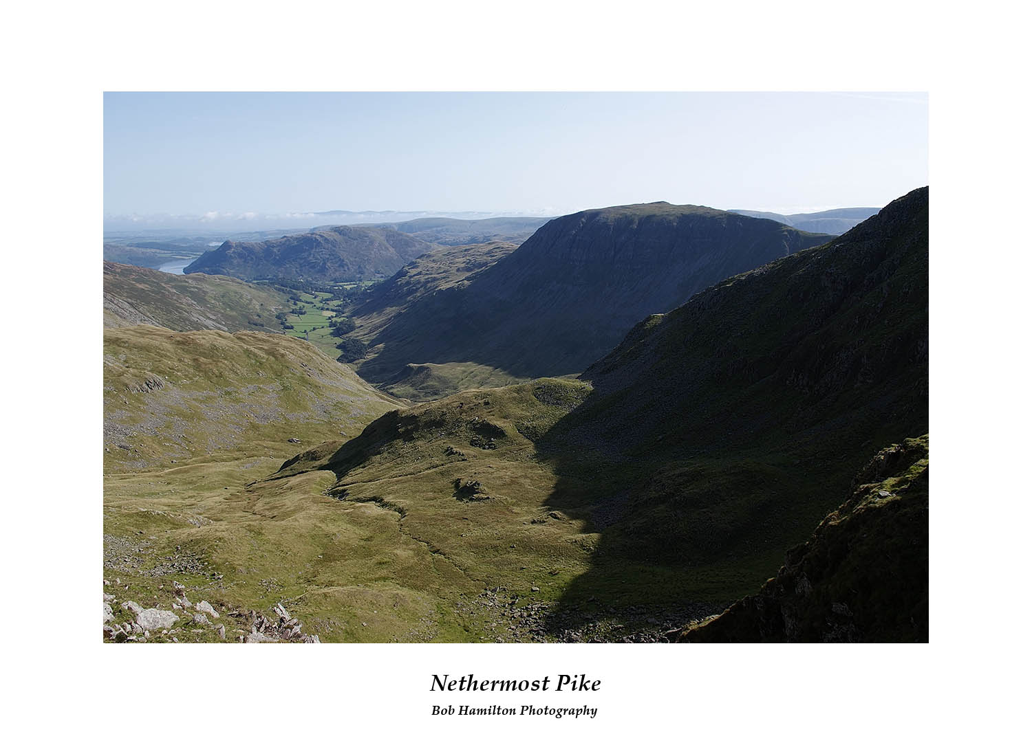 DSF1059 Grisedale St Sunday Crag and a distant Ullswater from Nethermost Pike