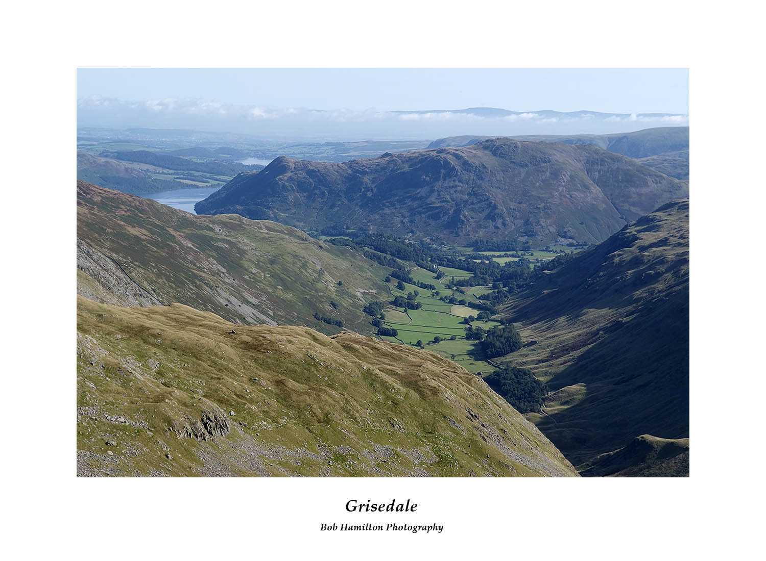 DSF1061 Grisedale and Ullswater from Nethermost Pike