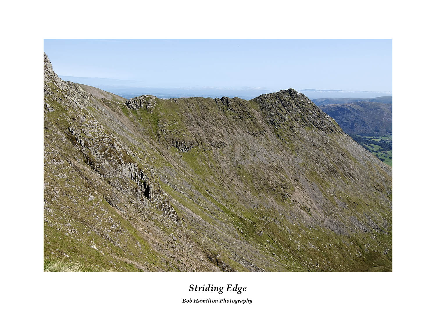 DSF1064 Striding Edge and High Spying How from Nethermost Pike