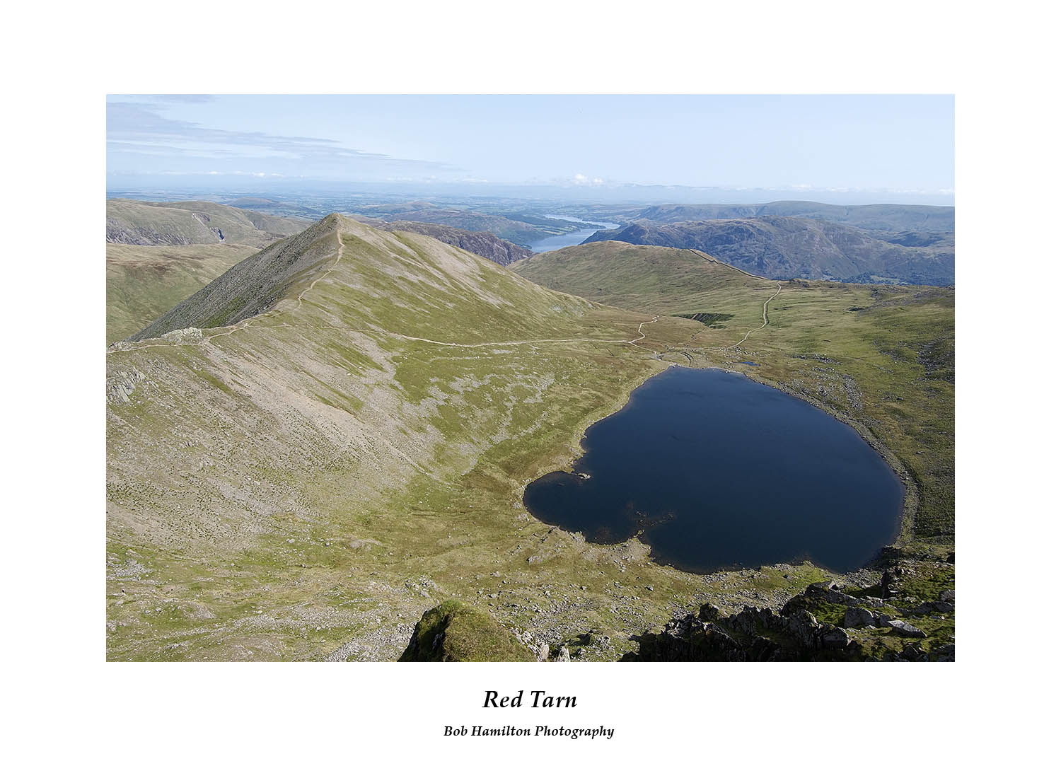DSF1072 Catstye Cam and Red Tarn from Helvellyn