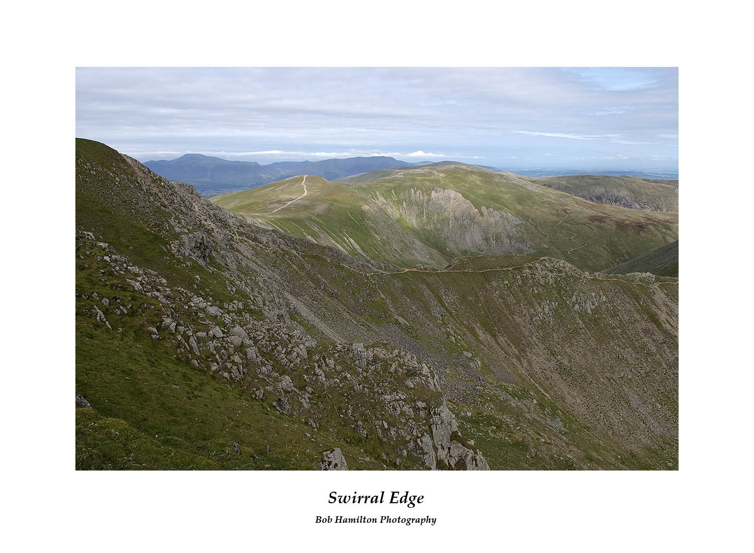DSF1074 Swirral Edge from Helvellyn