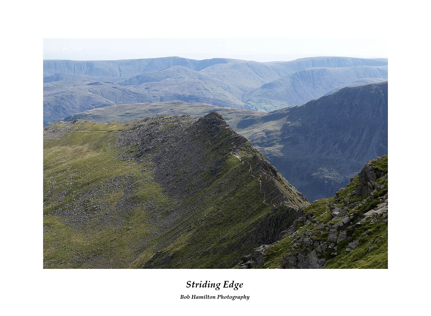 DSF1077 Striding Edge from Helvellyn