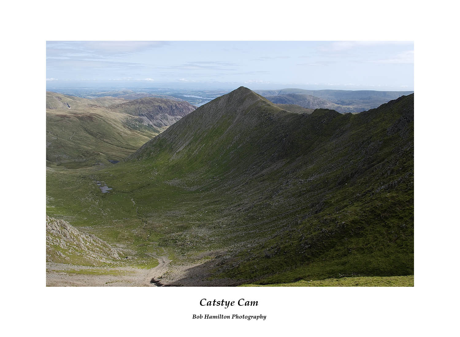 DSF1079 Catstye Cam and Swirral Edge from Helvellyn