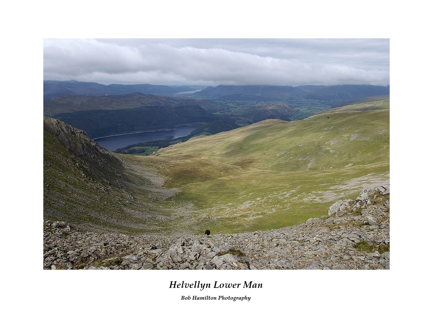 DSF1092 Browncove Crags and Thirlmere from Helvellyn Lower man
