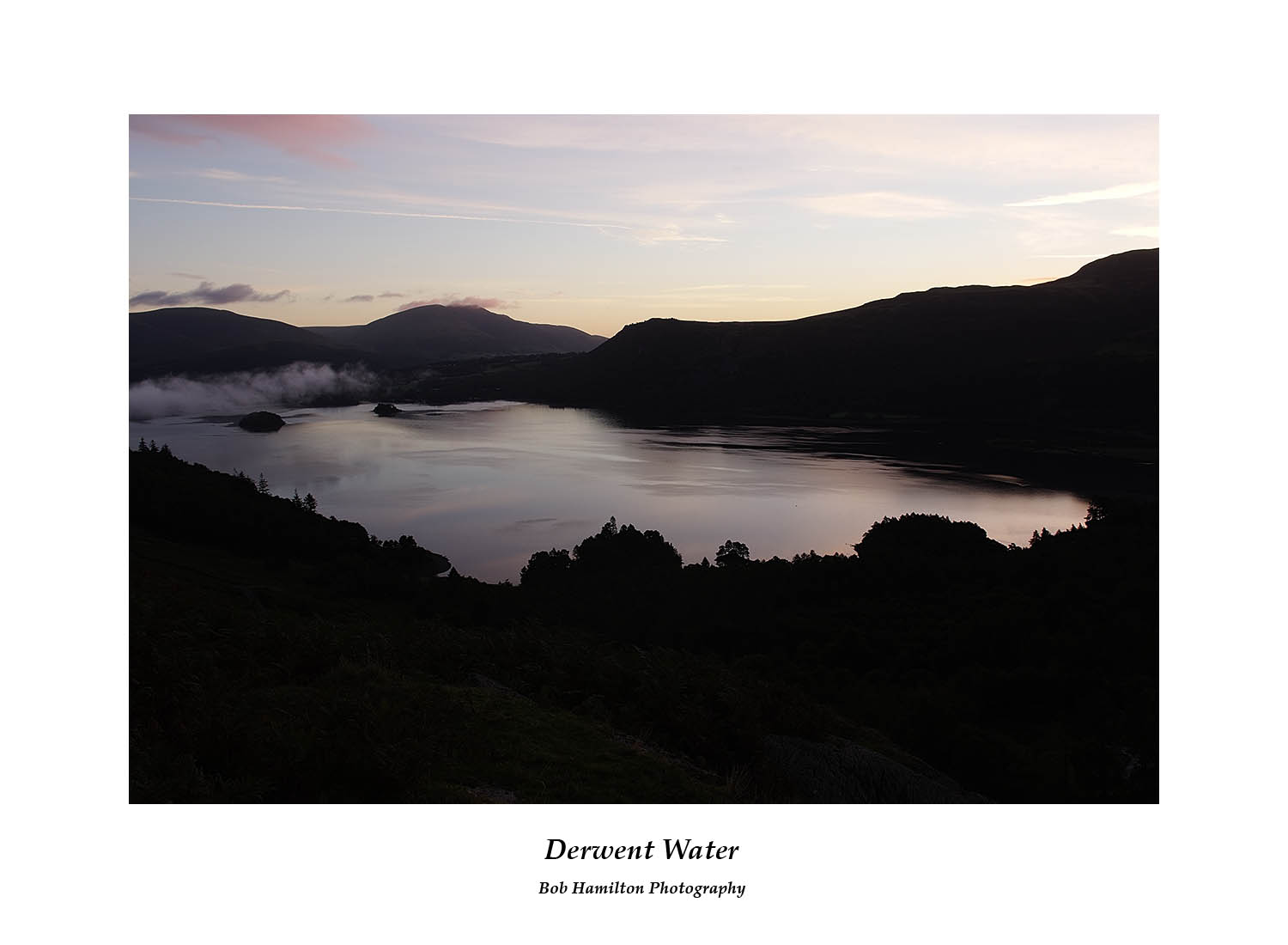DSF1112 Dawn on Derwent Water and Blencathra from Cat Bells