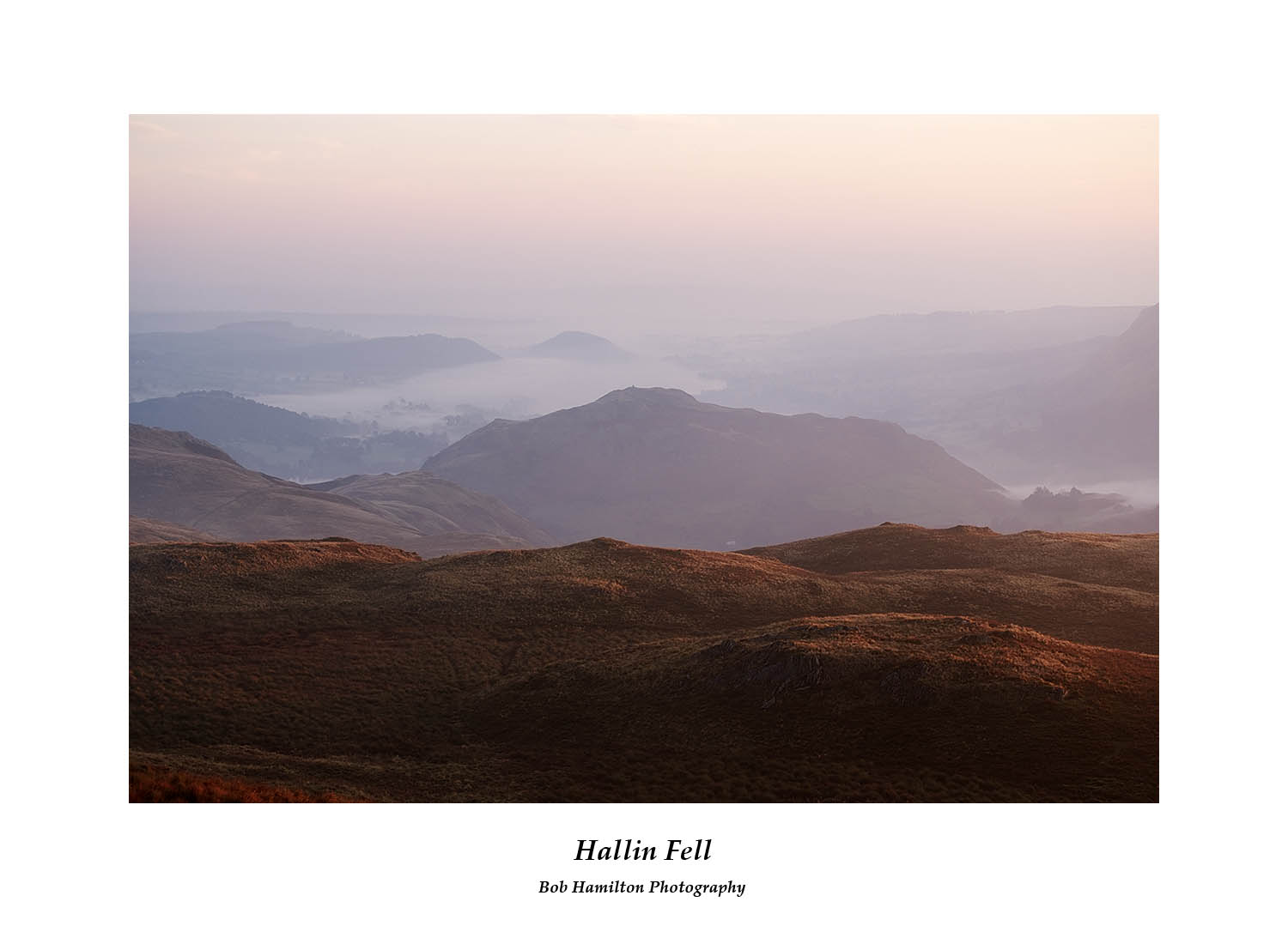 DSF1347 Daybreak on Hallin Fell and Ullswater from Place Fell