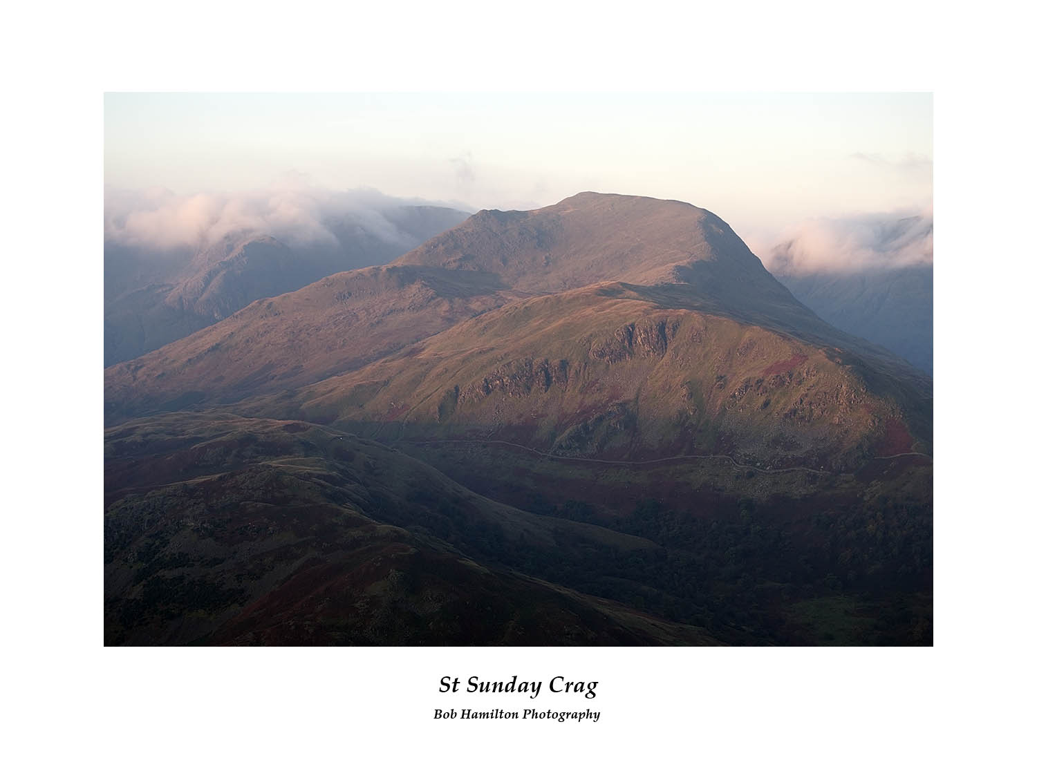 DSF1375 First light on St Sunday Crag from Place Fell