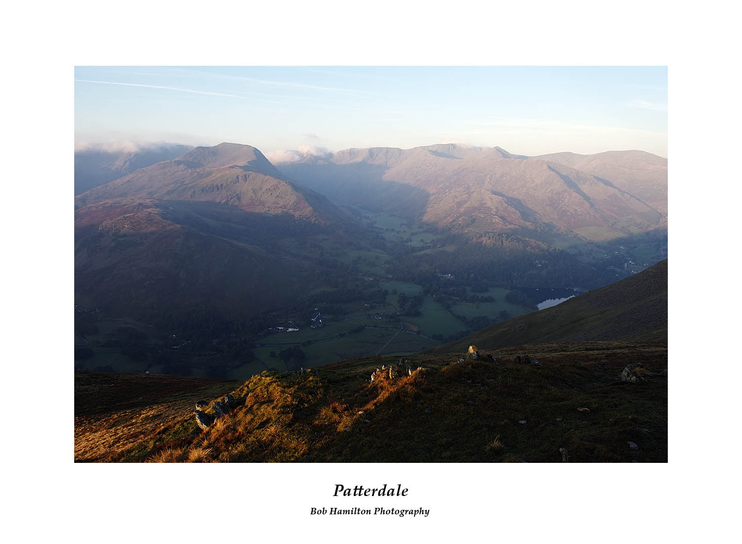 DSF1398 First light on Patterdale and Grisedale from Place Fell