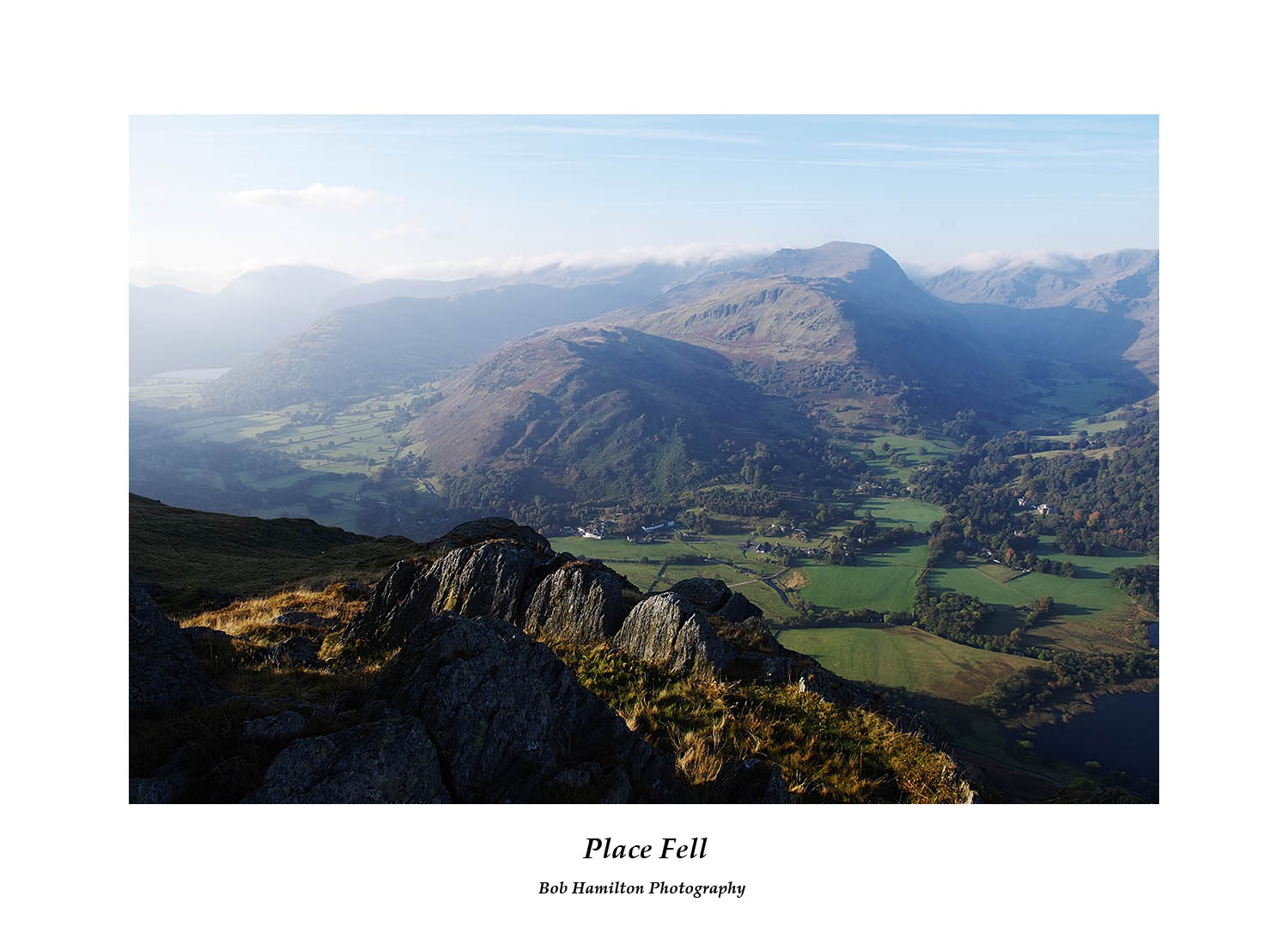 DSF1466 Brothers Water St Sunday Crag Grisedale and Patterdale from Place Fell