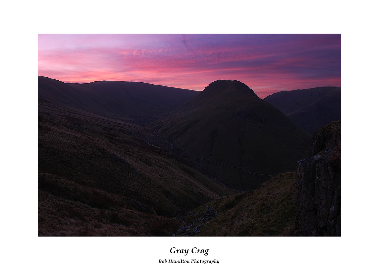 DSF1653 Dawn on Gray Crag from Brock Crags