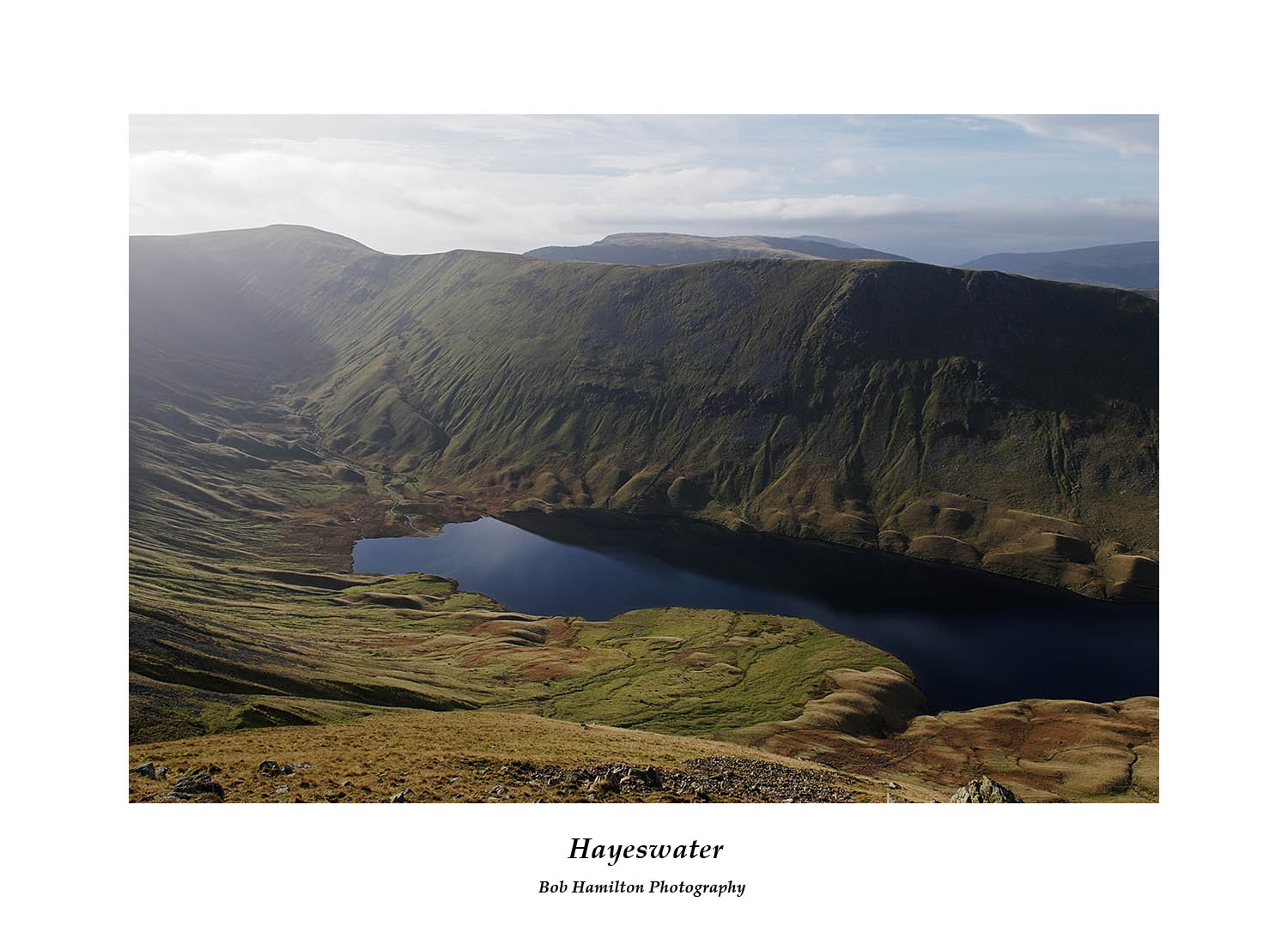 DSF1827 Hayeswater and Thornthwaite Crag from The Knott