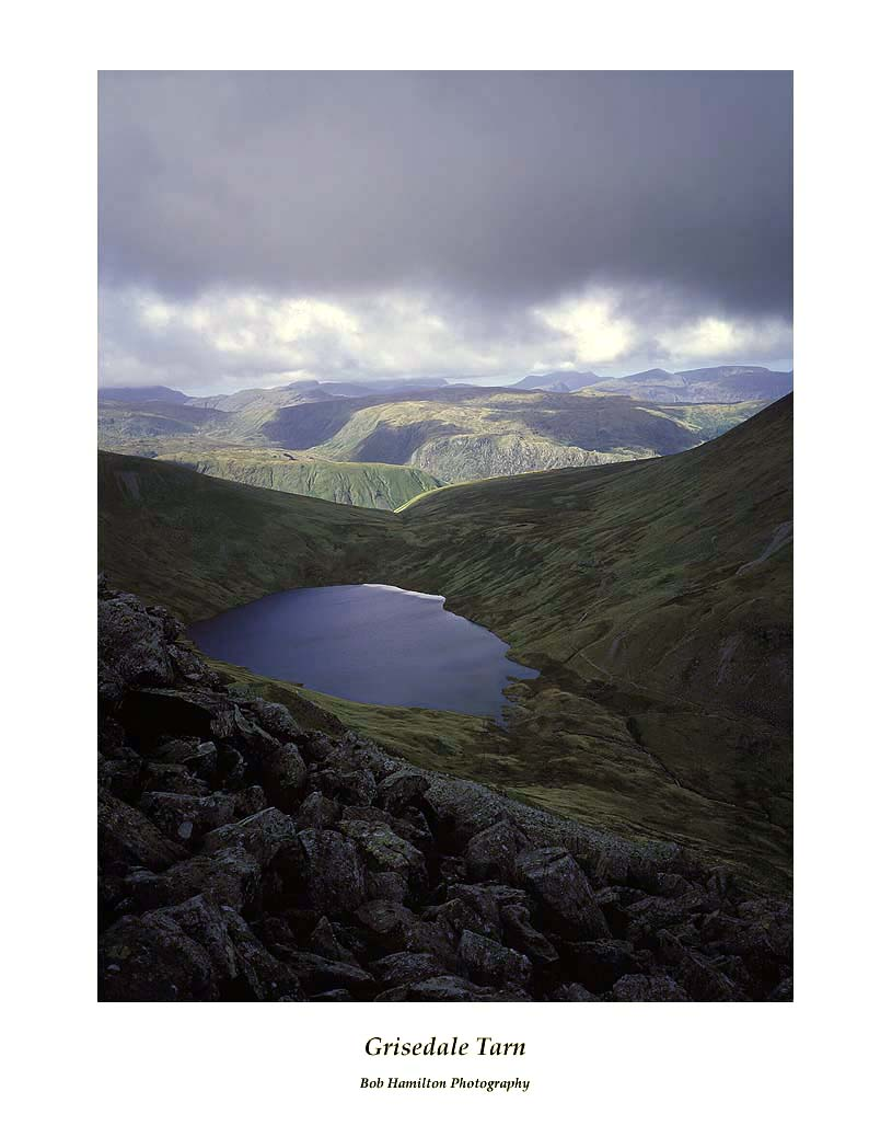 Grisedale Tarn from Coffa Pike