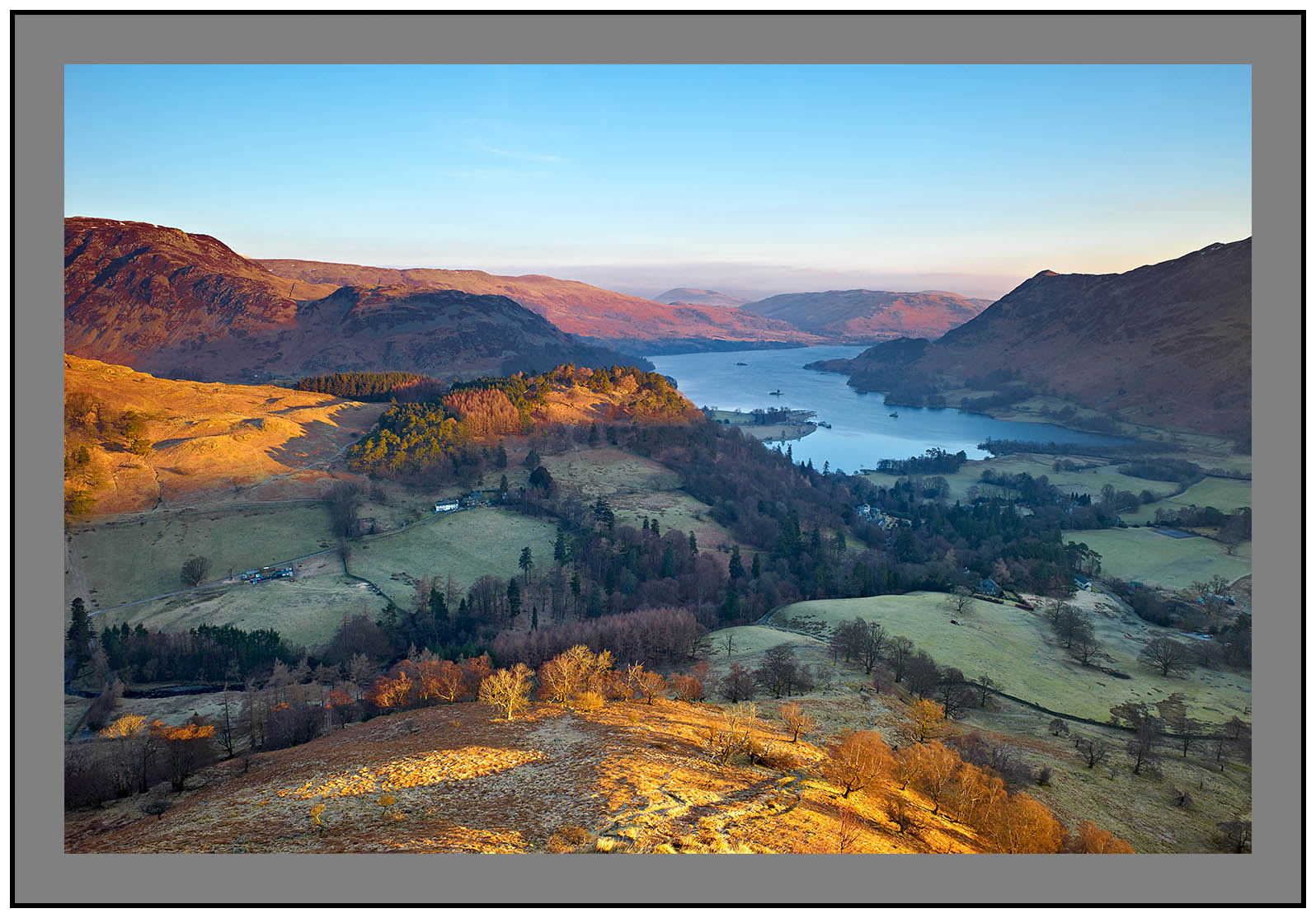 L1001576 Daybreak on Ullswater