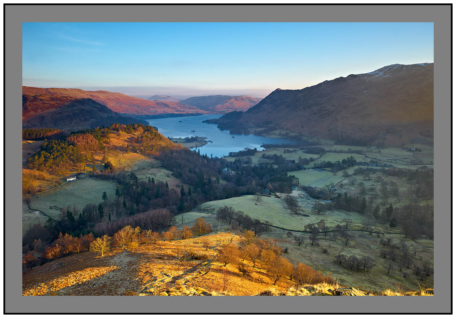 L1001588 Daybreak on Ullswater