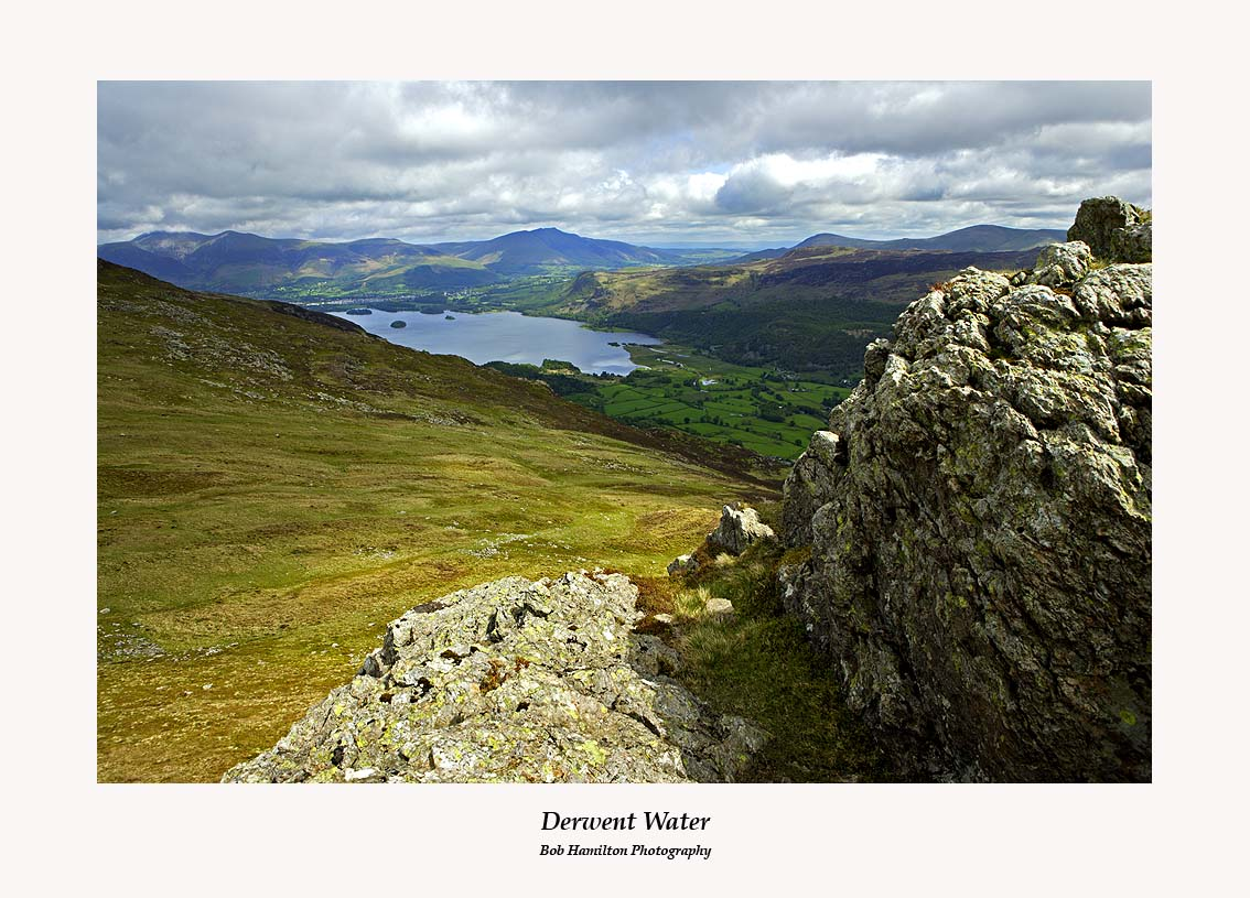 Derwent Water from High Spy