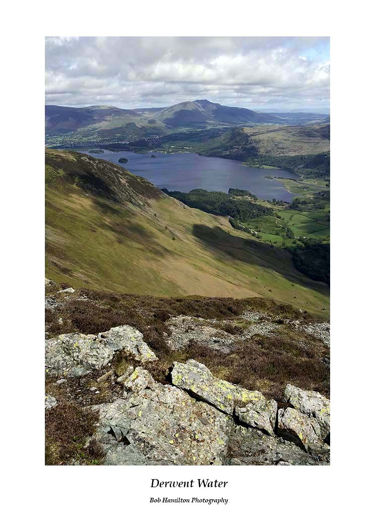 Derwent Water from Maiden Moor