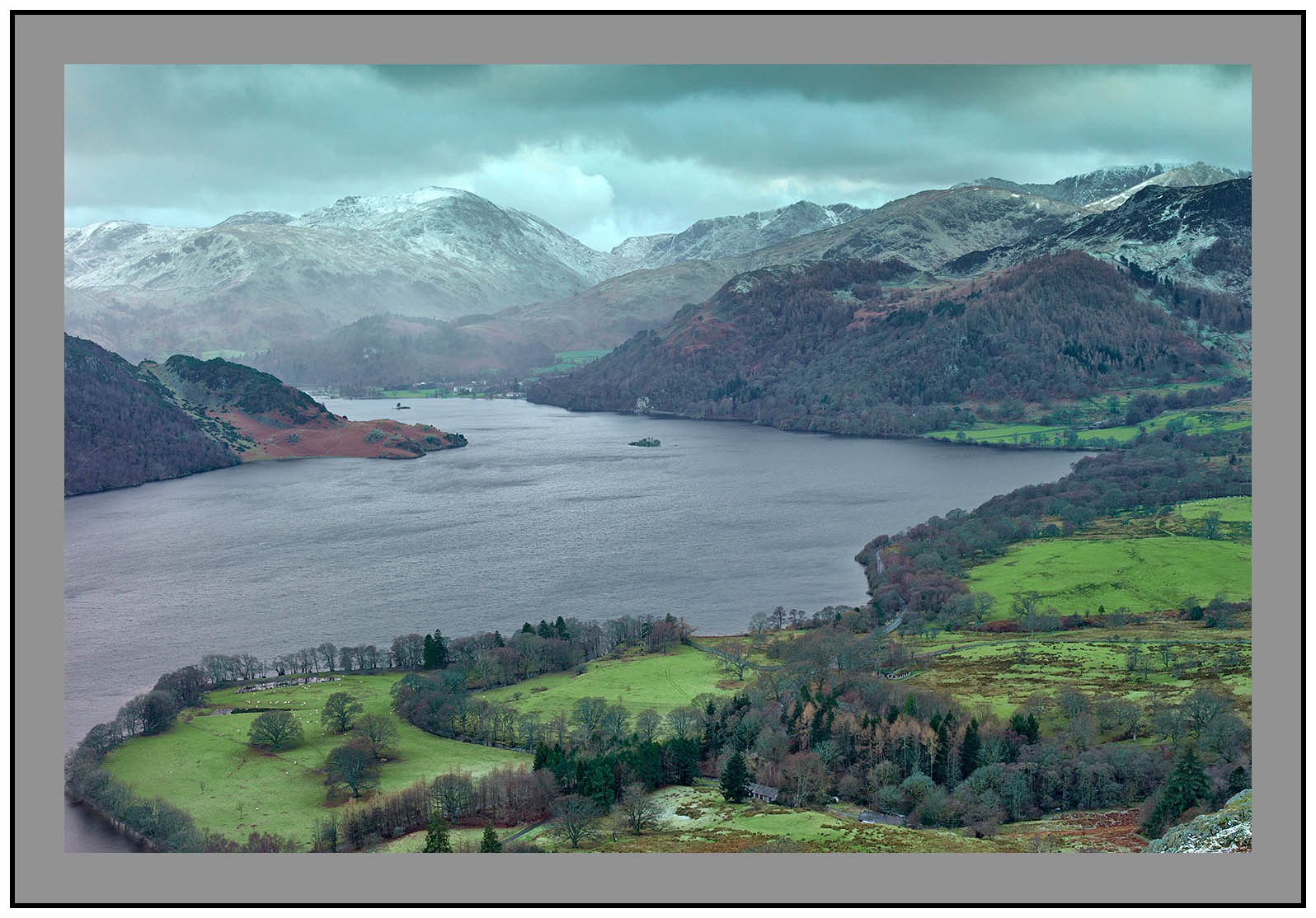 S2014304 Early morning on Ullswater and Glenridding